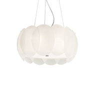 Luster Ideal Lux Ovalino SP5 bianco