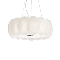Luster Ideal Lux Ovalino SP8 bianco