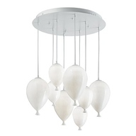 Luster Ideal Lux CLOWN SP8 BIANCO